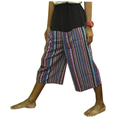 THAI HILL TRIBE STYLE GENUINE THICK COTTON HEAVY HANDMADE FREE SIZE