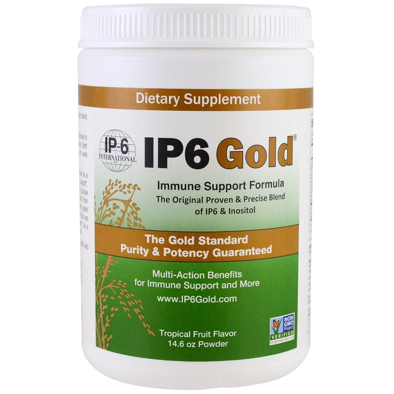 Dr. Shamsuddin's Original IP-6 - Gold Immune Support Formula With Stevia Tropical Fruit Flavor - 14.6 oz by IP6 International B001ED1GR8