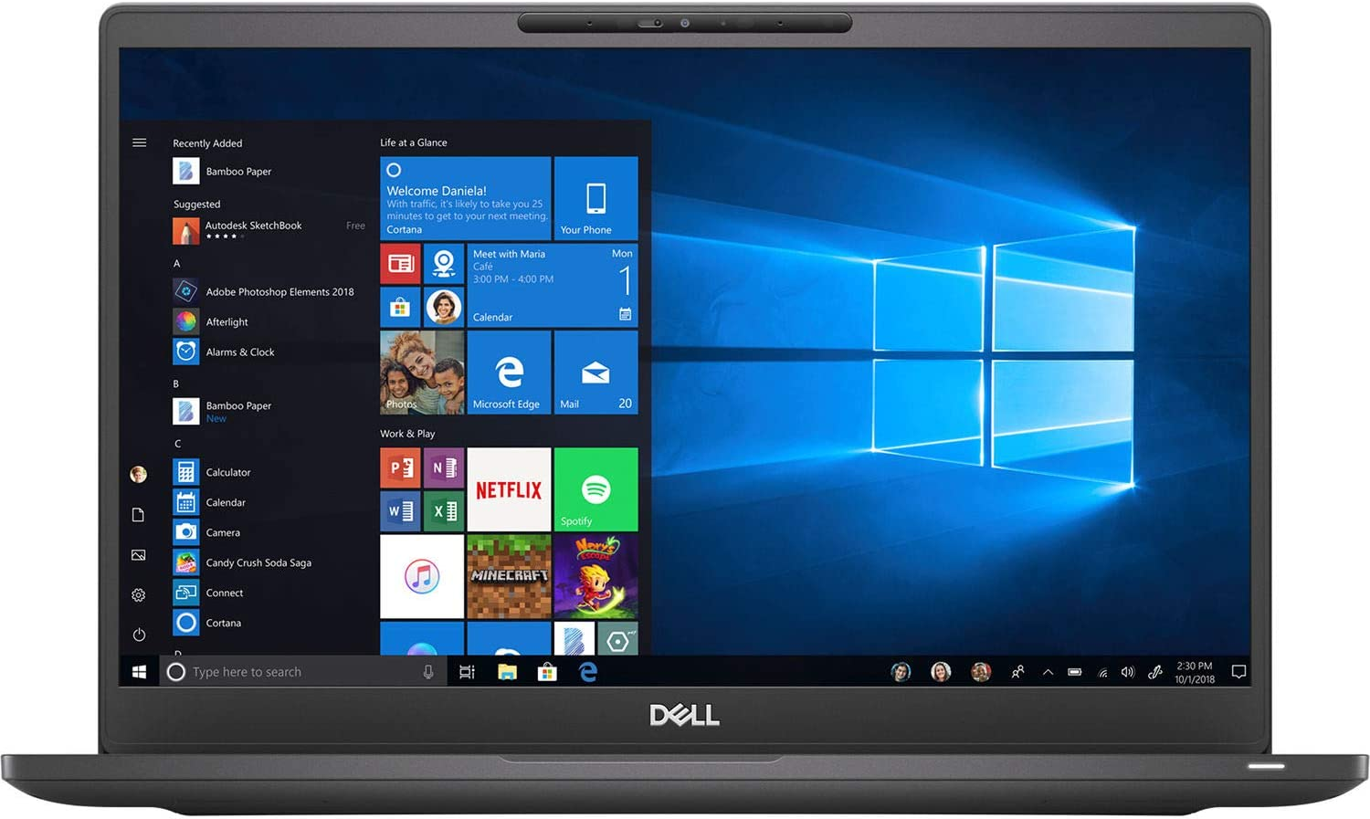 "Dell Latitude 7300 13.3"" Notebook - 1920 X 1080 - Core i5-8365U - 8GB RAM - 256GB SSD"