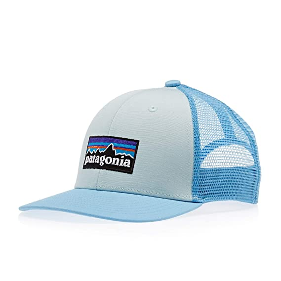 639353cf31c5 Patagonia Trucker Kids Cap One Size Atoll Blue: Amazon.fr: Vêtements ...