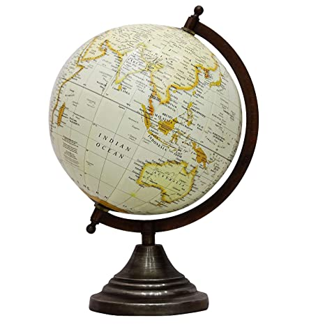 Globes For Sale >> Amazon Com Craftstribe World Globe Map Ocean Earth Rotating School