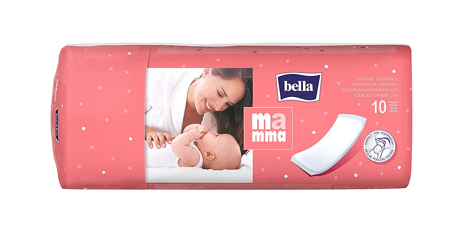 BELLA MAMMA MATERNITY NEW MOTHER HIGHLY ABSORBENT 10 PADS TZMO
