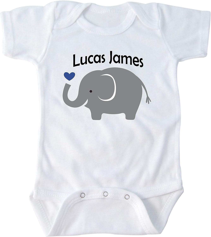 Baby boy clothes Custom Onesie\u00ae Baby shower gifts baby onesie\u00ae funny Personalized onesie\u00ae Elephant onesie\u00ae Baby boy onesie\u00ae