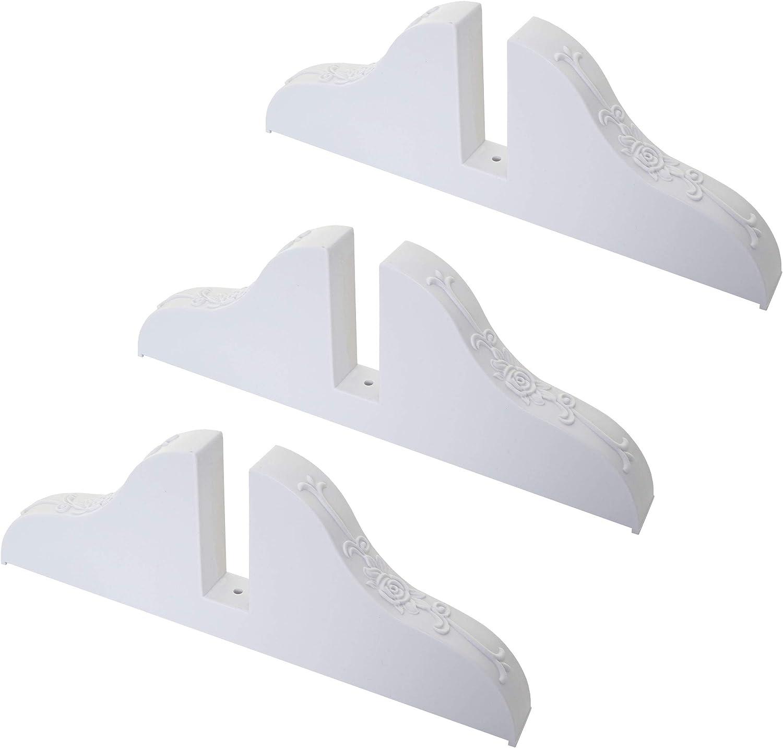 Biombo Soporte de pie para biombo,, color blanco ~ Juego de 3 ...