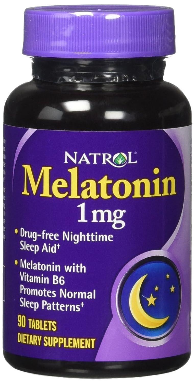 Amazon.com: Natrol Melatonin 1 Mg Time Release (1x90 TAB): Health & Personal Care