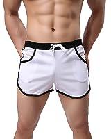 メンズ カジュアル ドライ・フィット ショートパンツ スポーツ トランクス ビーチ 短いパンツ