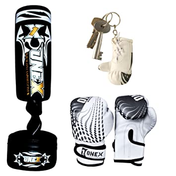 3,5 de pie boxeo target saco de boxeo pesado deber guantes ...