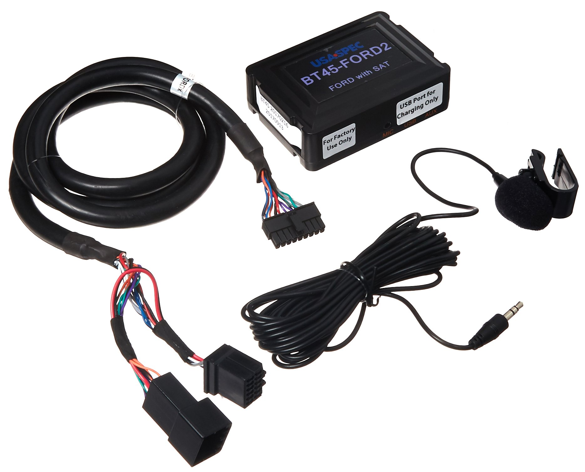 USA SPEC BT45-FORD2 Bluetooth Audio Interface for 2005-11 Ford, Lincoln, or Mercury vehicles with satellite radio