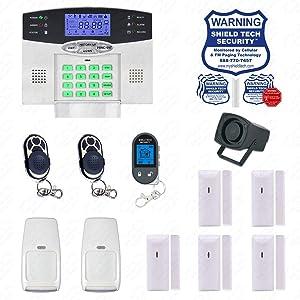 Wireless Burglar Alarm System Phone Line Auto Dialer US Home House Smart PSTN