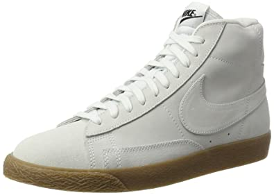 c1ebe3cac28 Image Unavailable. Image not available for. Color  Nike Blazer Mid Premium Mens  Trainers Off White ...