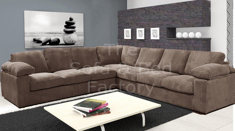 Ruxley Large Fabric 7 Seater Corner Sofa 3 Corner 3