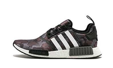 timeless design 7d78d e78e7 Image Unavailable. Image not available for. Color adidas NMD R1 Bape  Bathing Ape Black Camo ...