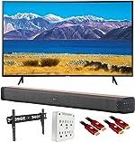 SAMSUNG UN65TU8300 65-inch HDR 4K UHD Smart Curved TV (2020 Model)