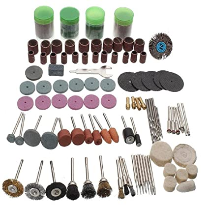 12pcs Grinder Polishing Cleaning Wheel Buffing Pad Kit Accessories Rotary Tool