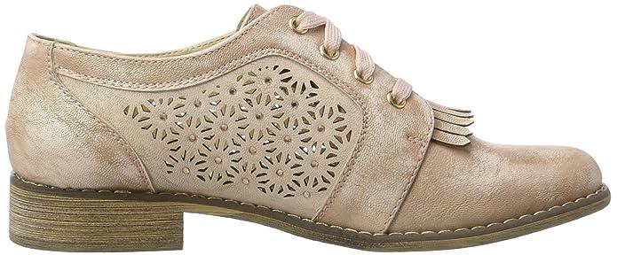 XTINude Pu Ladies Shoes . - Scarpe Basse Stringate Donna , rosa (Pink (Nude)),  38 EU: Amazon.it: Scarpe e borse