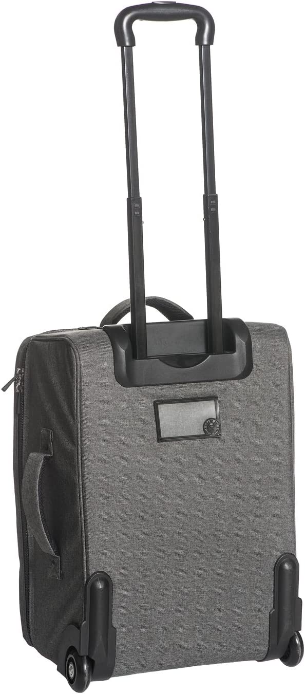Sullen Blaq Paq Travler Roller Tattoo Travel Bag Gray