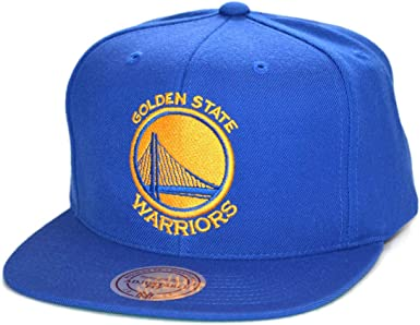 Mitchell & Ness Gorras Golden State Warriors Wool Solid Royal ...