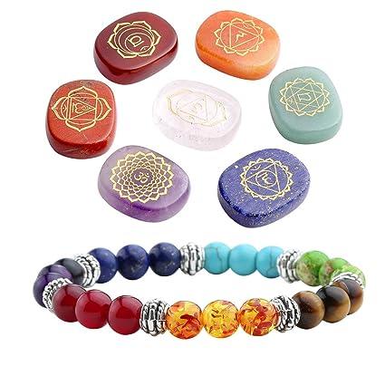 Amazon Top Plaza 7 Chakra Reiki Healing Crystals Yoga Balance