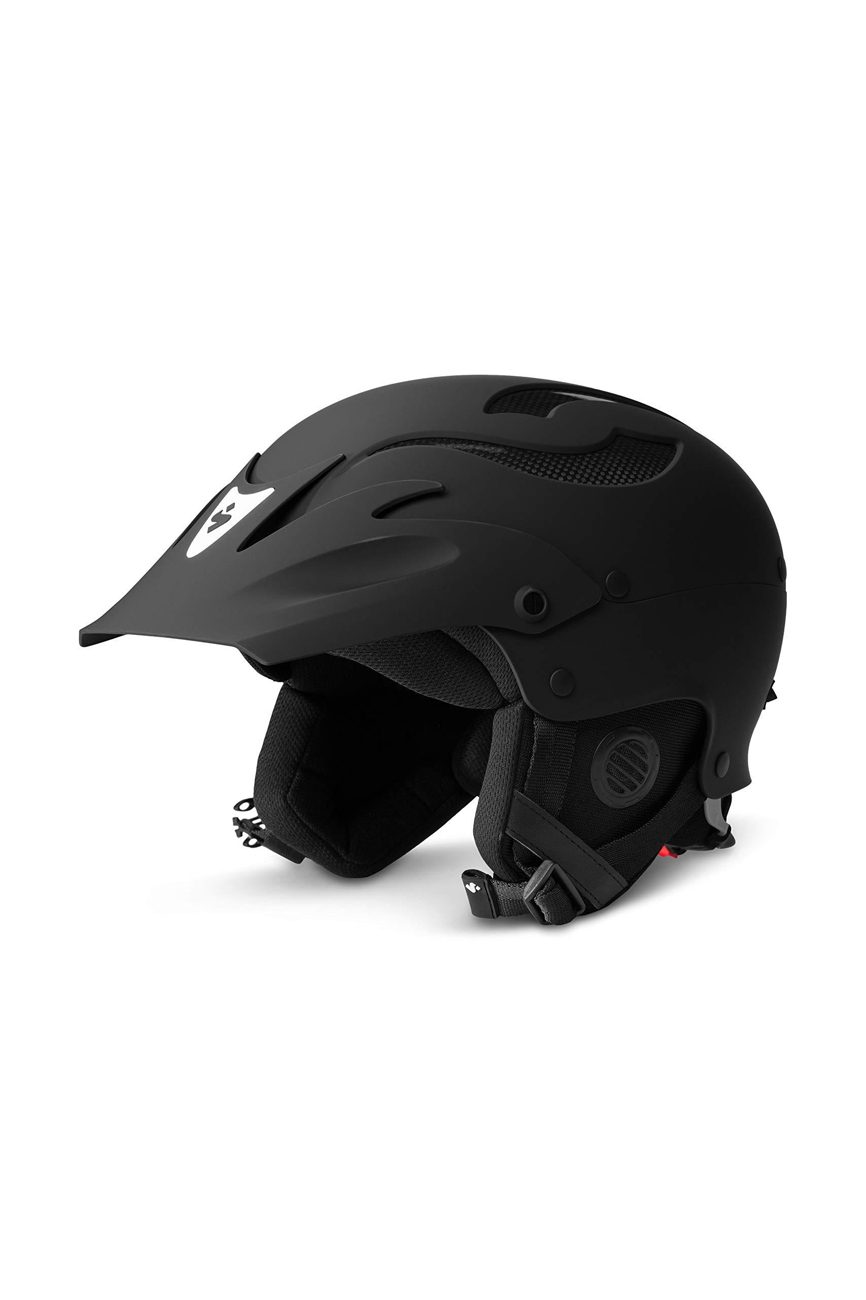 Sweet Protection Rocker Paddle Helmet, Dirt Black, ML