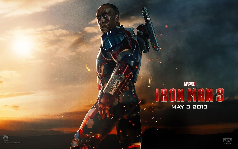 Posterhouzz Movie Iron Man 3 Iron Man Don Cheadle Sci Fi Hd