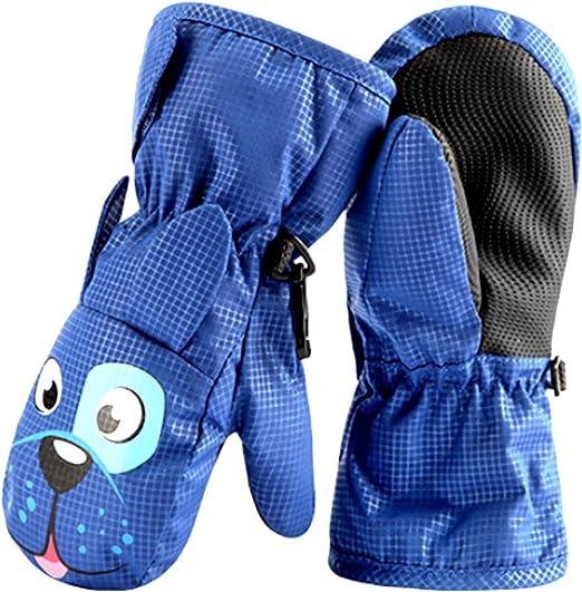 Muffole da Neve Toddler Snowboard Guanti Guanti Invernali Termici Guanti per Bambini per Bambini 2-5 Anni vdn Djvn Muffole Impermeabili Toddler