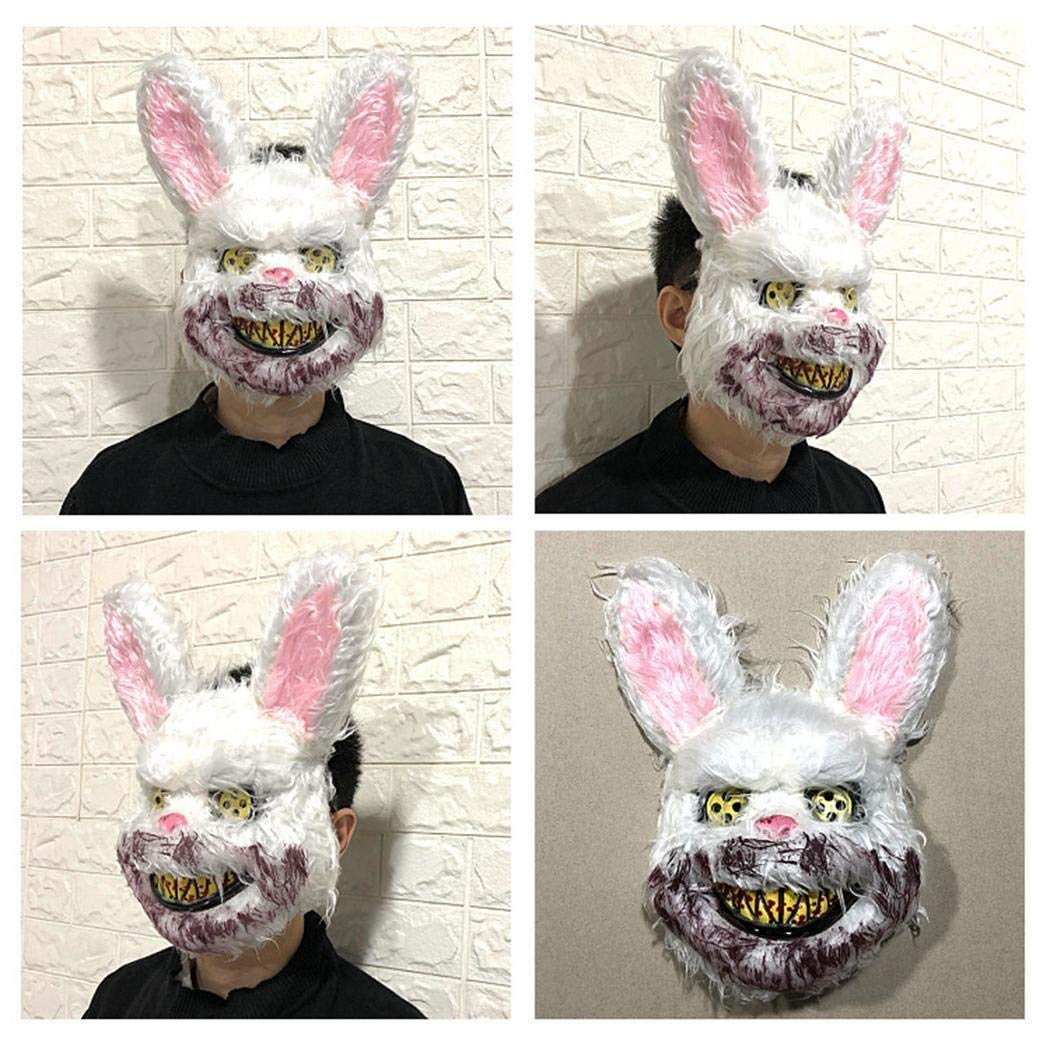 MUDEREK 1PC Masquerade Horror Scary Headgear Halloween Props Party Suppliers Decorative Masks
