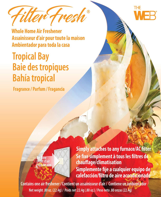 WEB FilterFresh Whole Home Tropical Bay Air Freshener WTROPIC