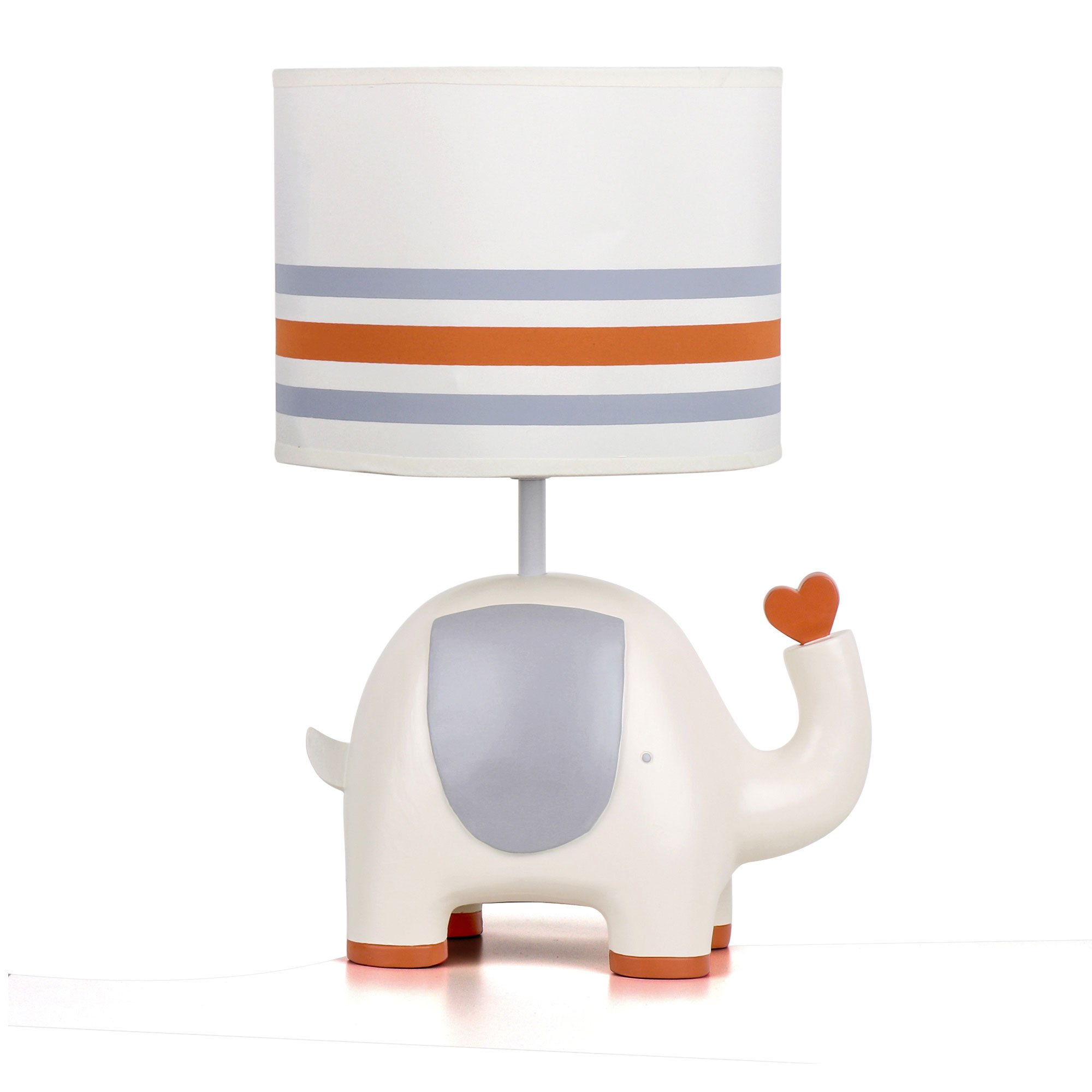 Natures Purest My First Friend Elephant Nursery Lamp Base and Shade by Nature's Purest