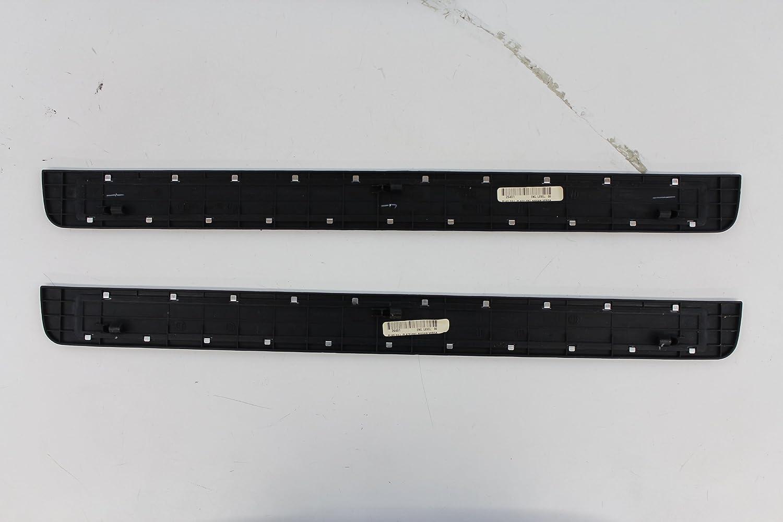 Nissan Genuine Accessories 999M1-4T000 Front Aluminum Kick Plate Set