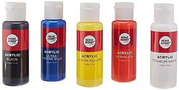 HomeHobby 3L Pintura acrílica ~ 5 botellas