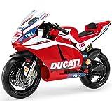 Peg Perego Ducati GP MC0020 2.014 niños de motocicletas de la motocicleta motocicleta eléctrica de 12V