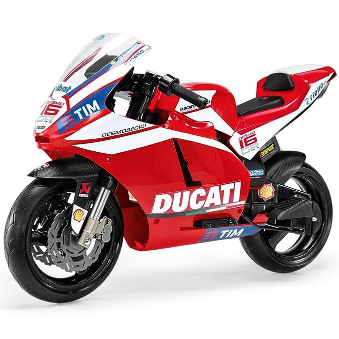 Peg Perego Ducati GP MC0020 2.014 niños de motocicletas de la motocicleta motocicleta eléctrica de 12V: Amazon.es: Juguetes y juegos