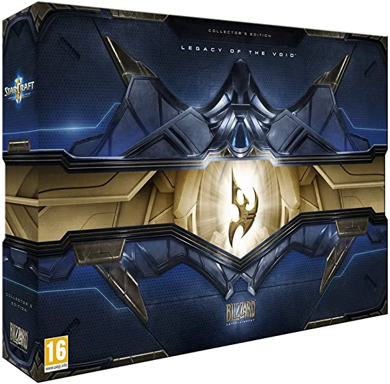 Starcraft 2: Legacy of the Void - Collectors Edition: Amazon.es: Videojuegos