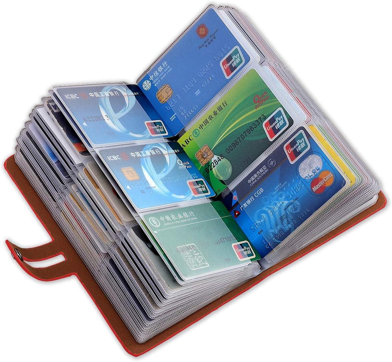 llaveros Originales Organizador Tarjeteros para Tarjetas De Credito Carteras Hombre Peque/ña Protegida En Cuero Y Fibra De Carbono Caja Aluminio Protecci/ón contra El RFID NFC Monedero Slim Vertical