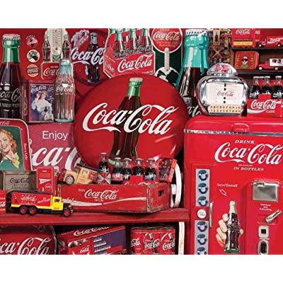 Springbok's 1000 Piece Jigsaw Puzzle Coca-Cola Memories: Toys & Games