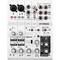 Yamaha 雅马哈 AG06外置声卡调音台 电脑手机录音直播K歌套装