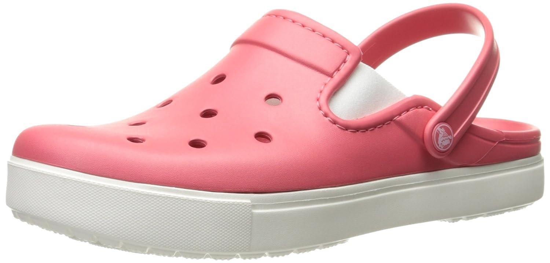 Crocs Citilane Clog, Zuecos Unisex, Null, 46 EU|Coral/Blanco