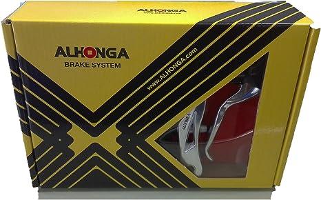 ONOGAL Juego Completo ALHONGA de 2X Manetas + 2X Frenos + ...