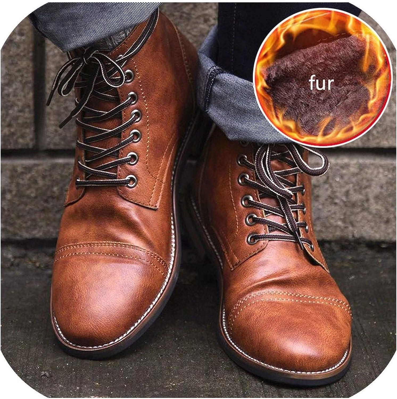Chelsea Boots Winter Shoes Men Ankle