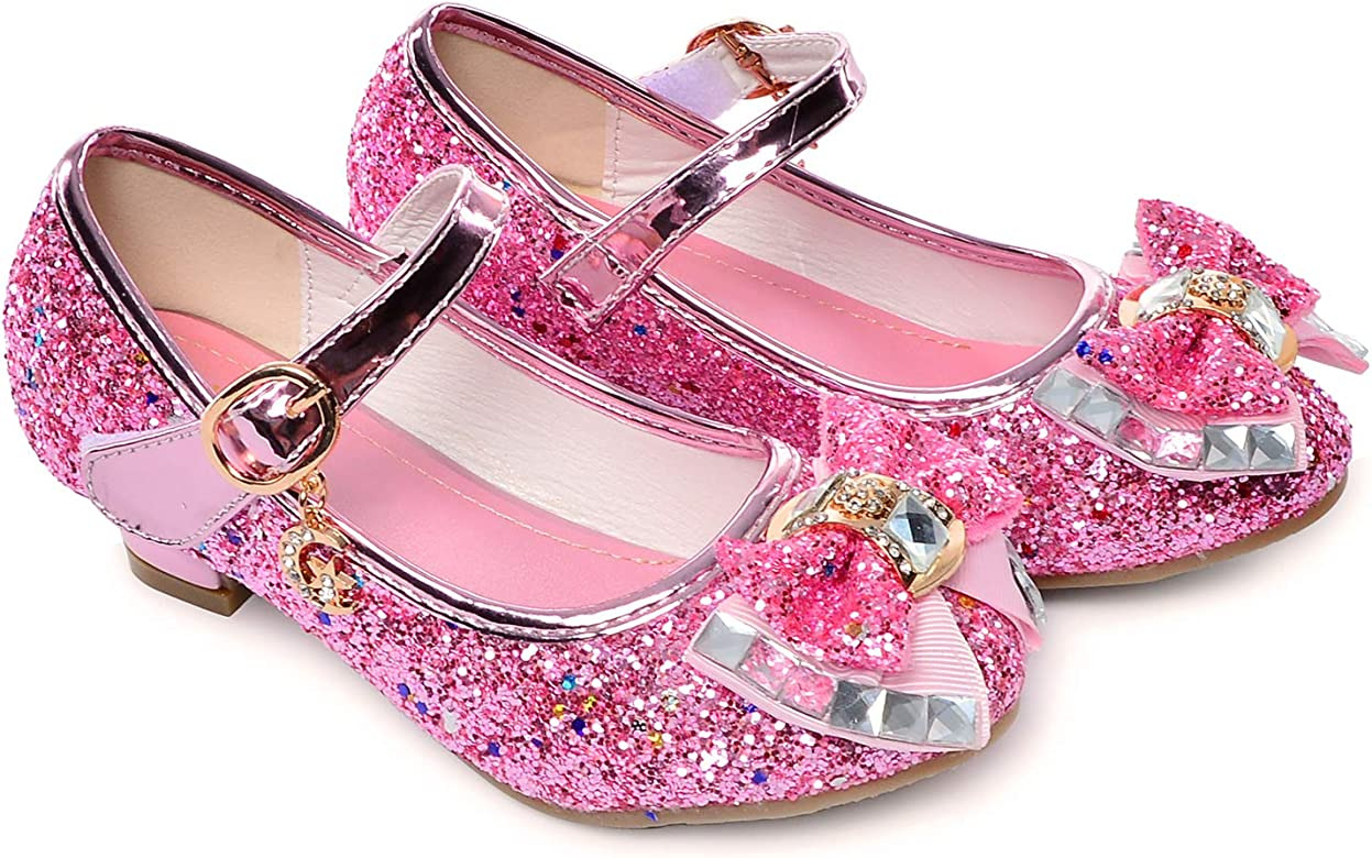 Little Girls Adorable Sparkle Mary Jane