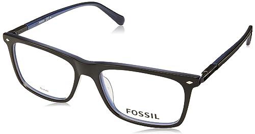 e33c1d60 Fossil 7029 Monturas de gafas para Hombre, color Negro, 54 mm ...