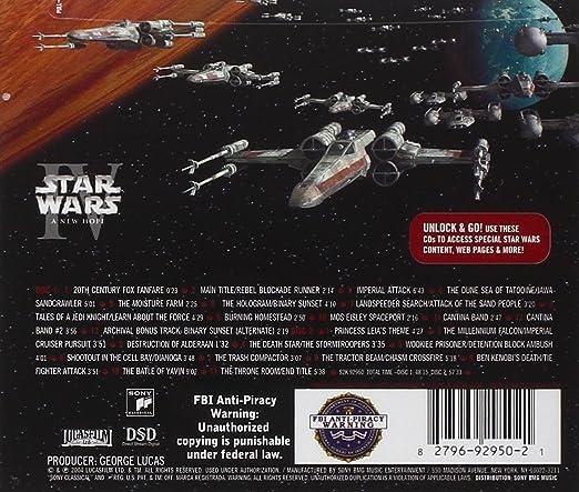 John Williams, London Symphony Orchestra - Star Wars: Episode IV - Amazon.com Music