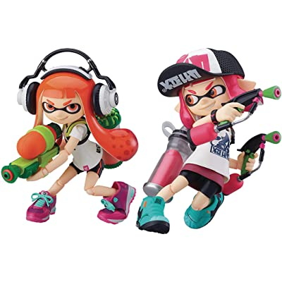 Good Smile Figma Splatoon Girl: DX Edition: Toys & Games