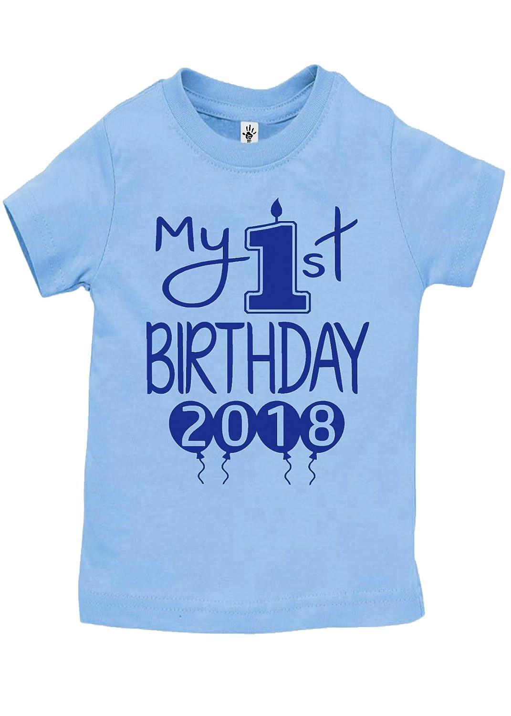 e849347e8 Aiden's Corner Baby Boy My First Birthday Handmade Bodysuits & Shirts | 1st  Birthday Outfits 2018