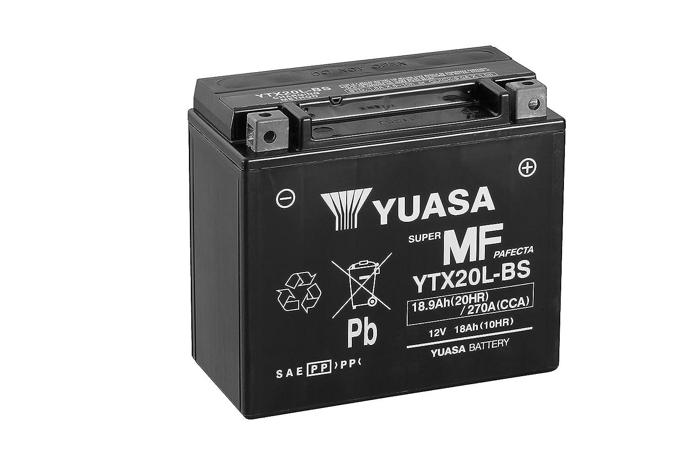 Yuasa YTX20L-BS WC Maintenance Free Battery