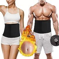 rizon magbälte avtagning bälte, bastu fitness Shapio svetsbälte magen fett väg bälte med bärväska för kvinnor och män…