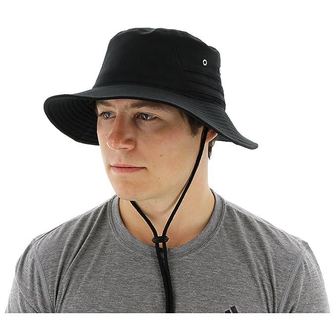 f9335902 Amazon.com: adidas Men's Victory II Bucket Hat, Black/Black, One Size:  Clothing