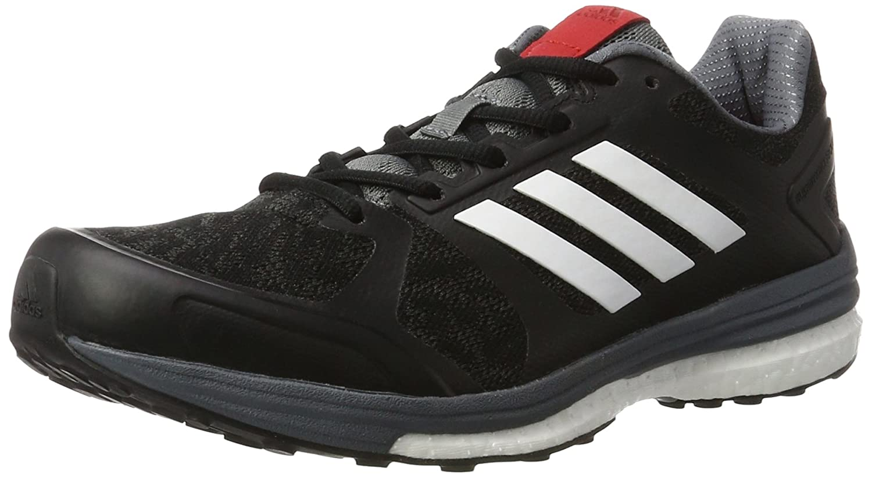 adidas Supernova Sequence 9, Zapatillas de Running Para Hombre 40 2/3 EU|Negro (Core Blackftwr Whitescarlet)
