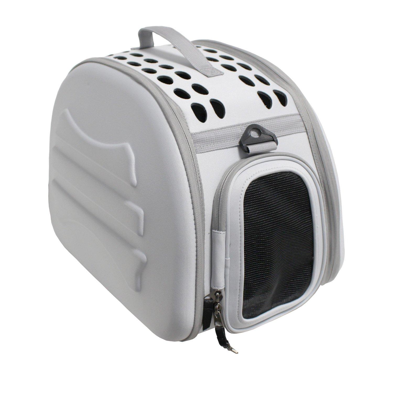 Yatek Transportin para Perros y Gatos Plegable y Lavable, Recomendado para Mascotas de hasta 6kg