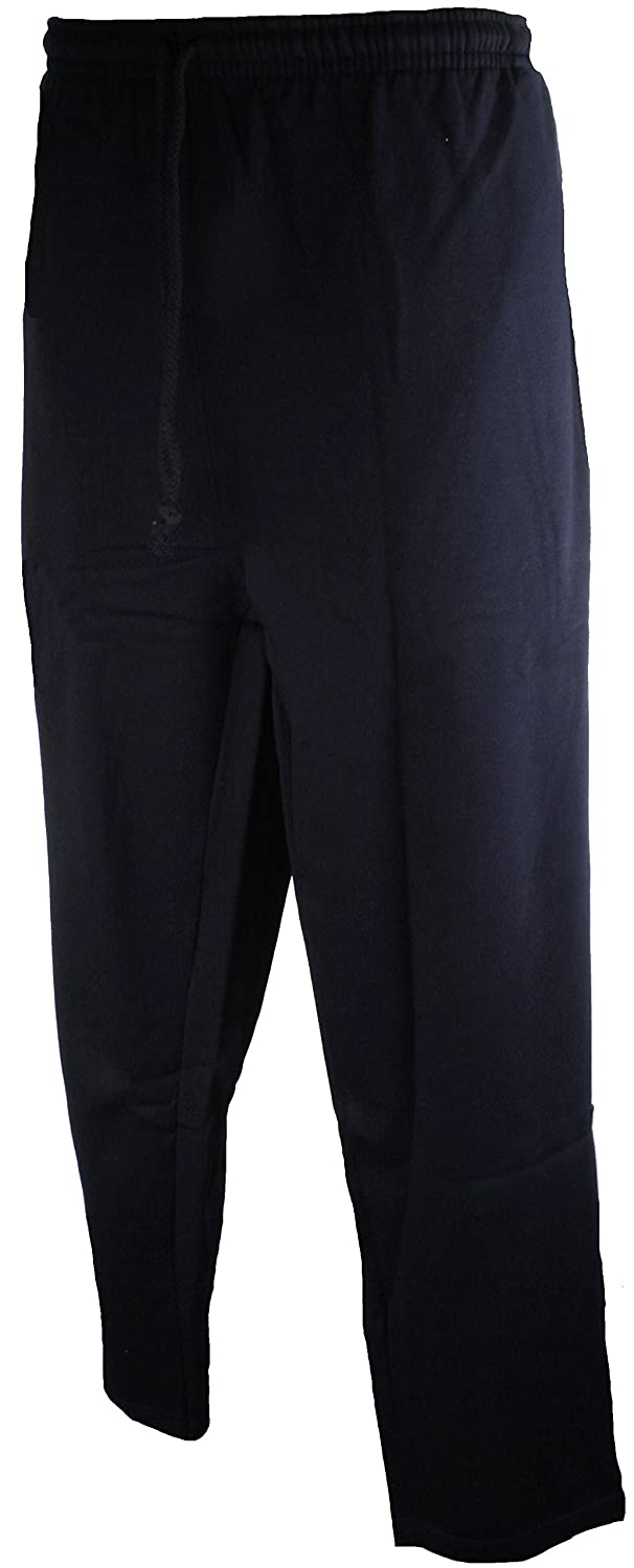 Perfect Collection Cotton Rich Jersey Lounge Trousers Navy Blue